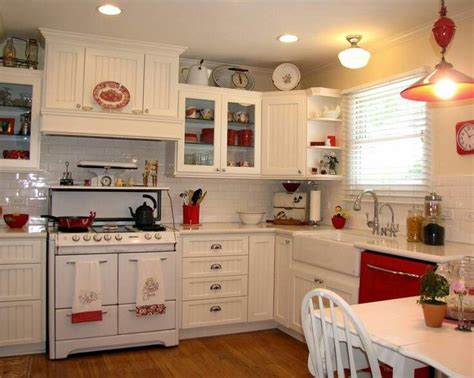 red and white kitchens ideas red and white farmhouse kitchen kitchens pinterest