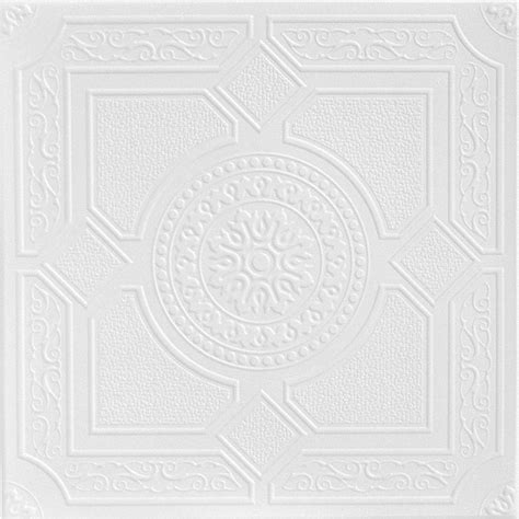 styrofoam ceiling tiles home depot a la maison ceilings kensington gardens 1 6 ft x 1 6 ft