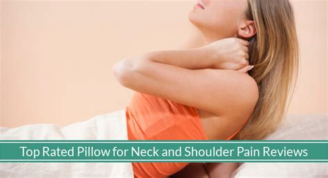 best pillow for neck and shoulder relieving strains