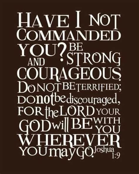 be strong and courageous joshua 1 9 navy christian 1 corinthians 4 2
