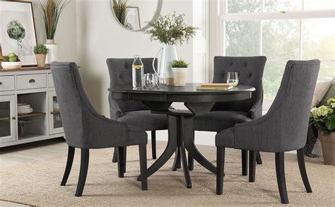 hudson  grey wood extending dining table   duke