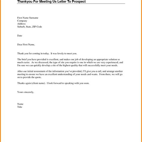 thank you letter after meeting visit thank you letter after visit customer images format