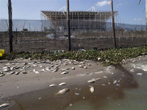 rio olympic venues now another waterway near 2016 rio olympic village is suddenly