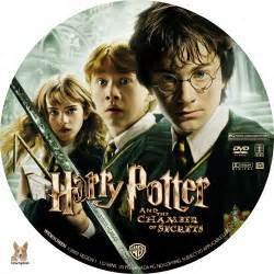 Harry potter and the chamber of secrets dvd labels 2002 r1 custom