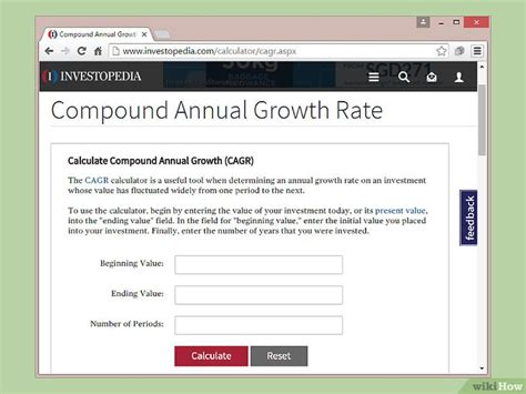 tasa de crecimiento anual compuesto wikipedia la 5 formas de calcular la tasa de crecimiento anual compuesto