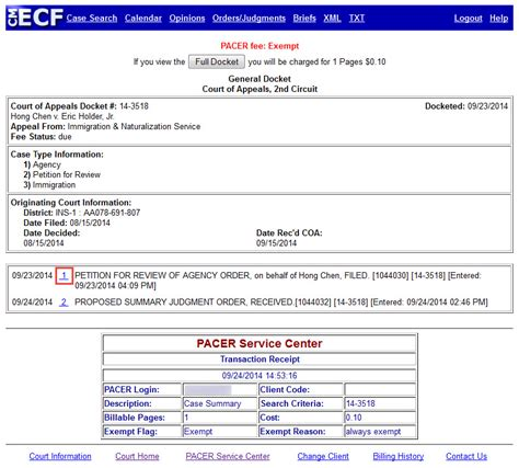 Search Cases By Number How To View Restricted Documents