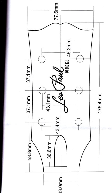 gibson les paul headstock template 243 best images about guitars on