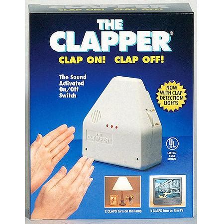 The Clapper Light Switch by The Clapper Sound Activated On Switch 1 Each