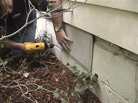 basement crawl space ventilation r 233 paration de vide sanitaire au qu 233 bec le cleanspace