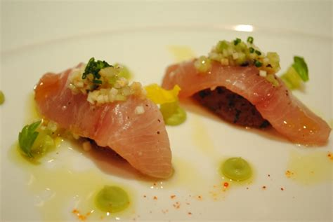Poached Tuna by Lobster Bolognese Archives Darin Dines