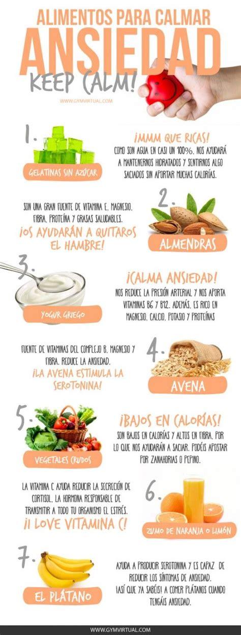 alimentos para la ansiedad alimentos para calmar la ansiedad