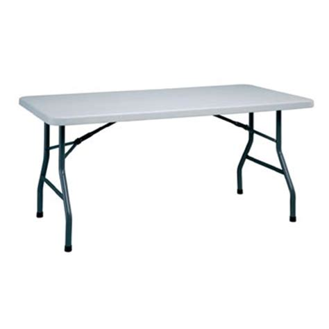5 Foot Folding Table 5 Foot Plastic Folding Table