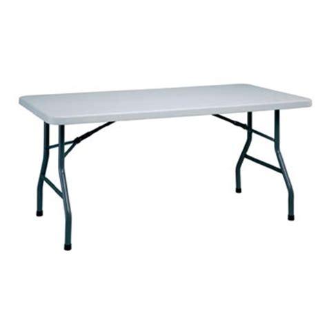 5 Ft Folding Table 5 Foot Plastic Folding Table