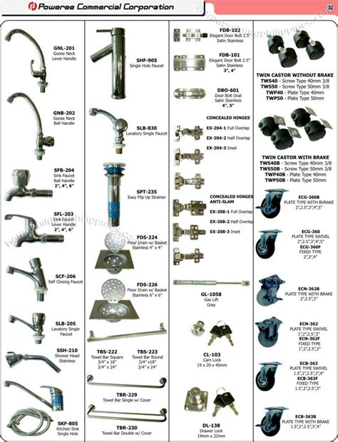 list of accessories in kitchen and bathrooms bathroom accessories name list
