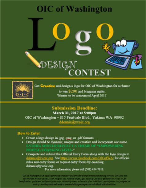 dc design contest oic of washington logo design contest extended feb 9
