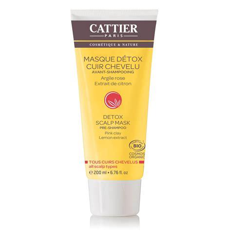 Luzern Protect Detox Masque by Cattier Masque D 233 Tox Cuir Chevelu Avant Shooing Bio