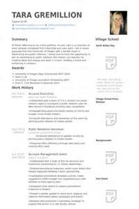 Account Executive Resume Exle by 7 Account Executive Cv Exle Visualcv Resume Sles Database