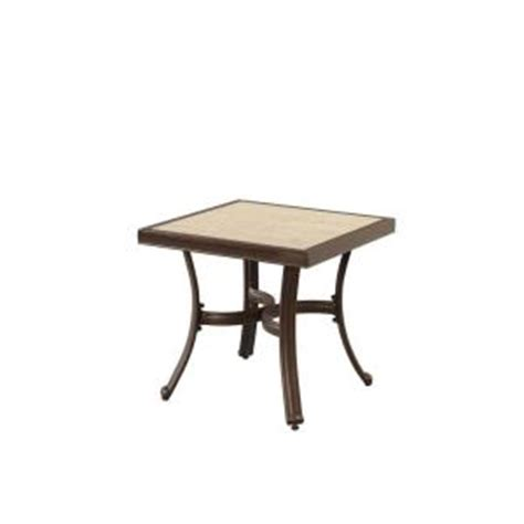 Home Depot Patio Accent Tables Hton Bay Pembrey Patio Accent Table Hd14217 The Home