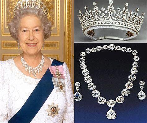 queen elizabeth ii glistens in diamonds and sapphires for queen s diamond jubilee and queens diamonds