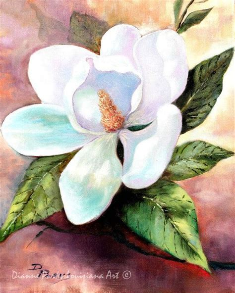 watercolor tattoo new orleans magnolia blooms magnolia grandiflora louisiana state