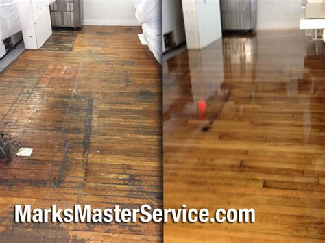 Refinished Hardwood Floors Before And After Newburyport S Master Service