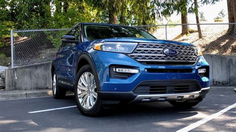 2020 ford explorer hybrid mpg 2020 ford explorer hybrid drive review mpg