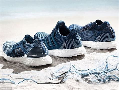adidas sold one million pairs of shoes made from plastic daily mail