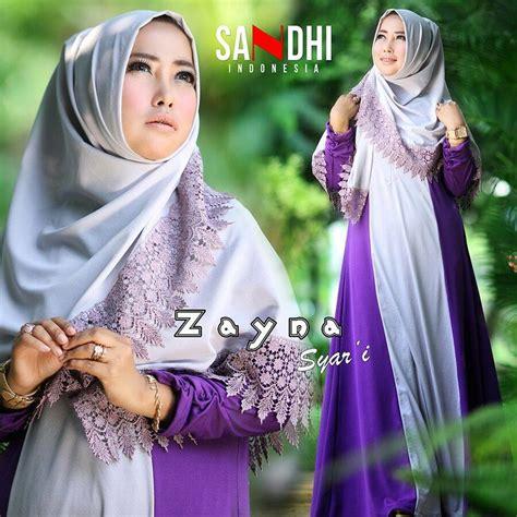 Gamis Muscrape Salem Xl Ready busana muslim koleksi terbaru