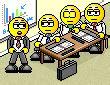 smiley au bureau 175 176 176 smilchat smiley anim 233 3d