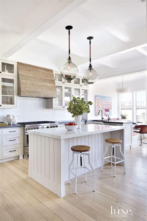 white kitchen wood island contemporary white kitchen kitchens pinterest ranges wood range hoods and islands