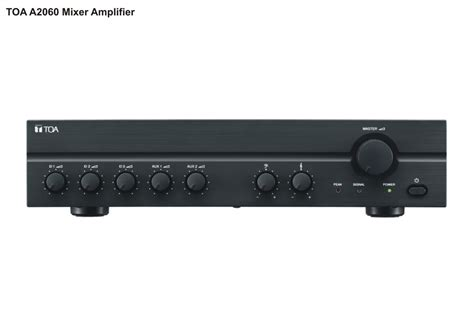 Mixer Power Lifier Toa lifier t艫ng 226 m toa a 2xxx series