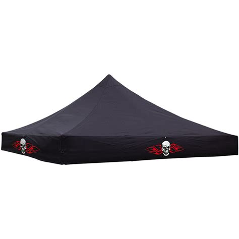 Replacement Canopy Covers Instant Pop Up Tent Replacement Cover 10x10 Skull