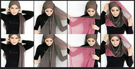 kumpulan tutorial jilbab paris simple tutorial hijab paris segi empat terbaru 2014 by natasha