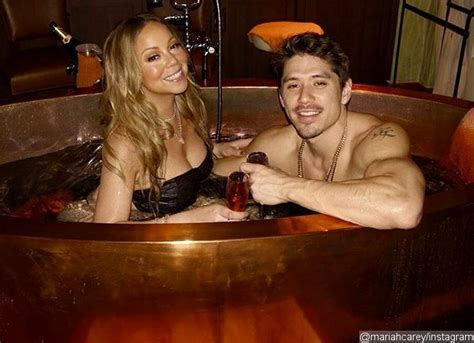 mariah carey bathtub mariah carey and beau bryan tanaka get cozy in bathtub on valentine s day