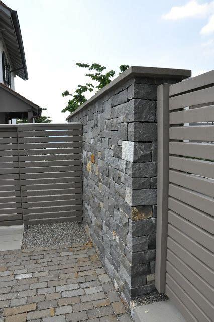 Natursteinmauer Als Sichtschutz by Natursteinmauer Als Sichtschutz Garden Garten
