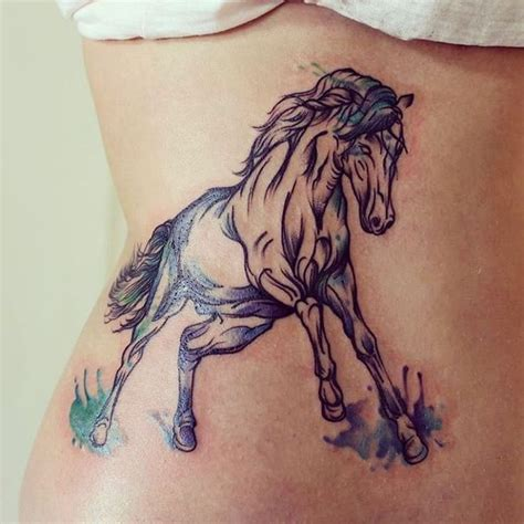 pinterest tattoo horse beautiful horse tattoo by eva mad inkspiration