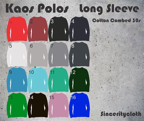 Kaos Polos Longsleeve Cotton Combed 30s Black jual kaos polos cotton combed 30s sleeve size s m l sinceritycloth