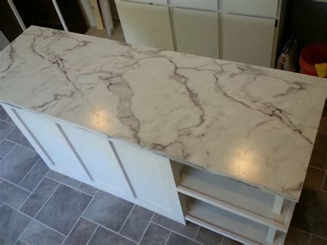 Faux Marble Countertop by Faux Marble Countertop For The Home