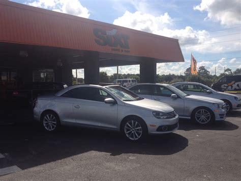 orlando florida sixt car rental review   agency