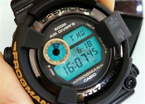 Casio G Shock Dw 8200 Bm live photos g shock dw 8200bm 1t frog mib2