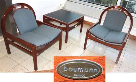 siege baumann lot 320 paire de chauffeuses de marque baumann assise