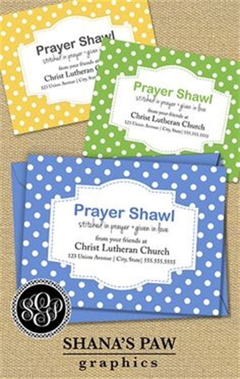 prayer shawl card template sle label prayer shawls