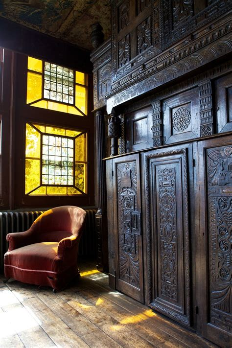 the carving room the wood wall carving is gorgeous hauteville house guernsey and funky spaces