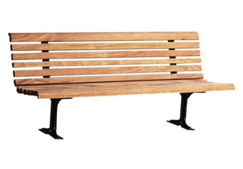 wood park bench 6 classic wood park bench commercial site furnishings