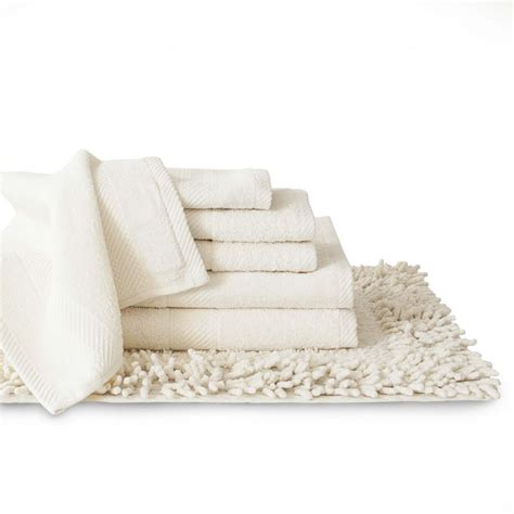 Bathroom Rug And Towel Sets by Baltic Linen Belvedere 100 Cotton 7 Towel Rug Set