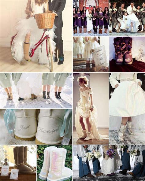 Wedding Uggs by Ugg Boot Wedding Ideas