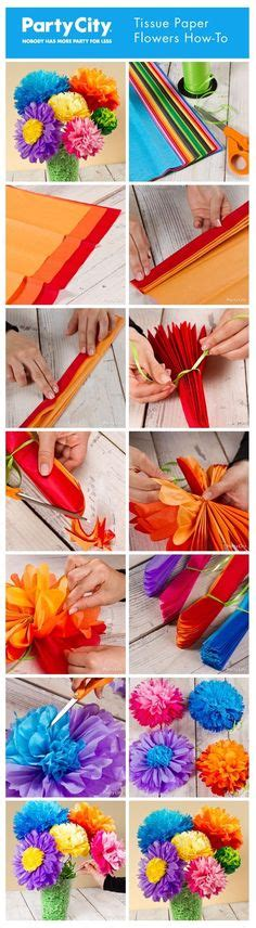How To Make A Mexican Flower Out Of Tissue Paper - tissue paper mexican door decoration classroom ideas