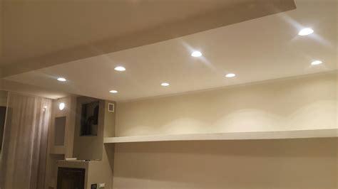 illuminazione faretti da incasso faretti da incasso per contro soffitto in cartonge