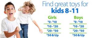 Toys for boys amp girls 8 to 11 year olds