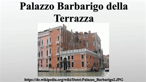 palazzo barbarigo della terrazza palazzo barbarigo della terrazza